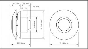 Смарт-вентилятор Marley MP-100S