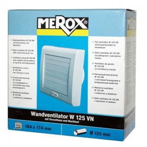 Вентилятор для ванной MEROXW 125 VN