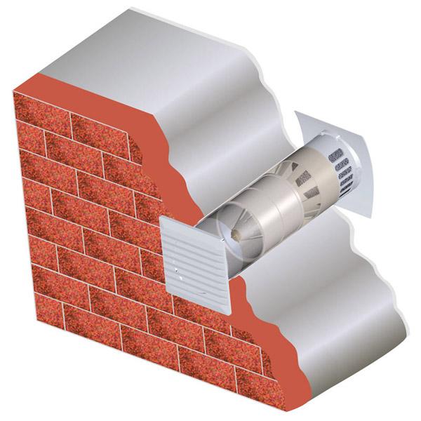 иллюстрация монтажа вентилятора